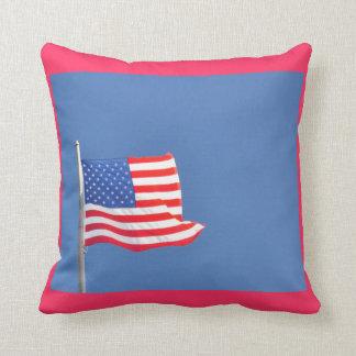 Waves of Patriotism - pillow