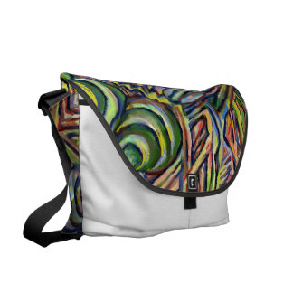 Waves of Prosperity- abstract bag