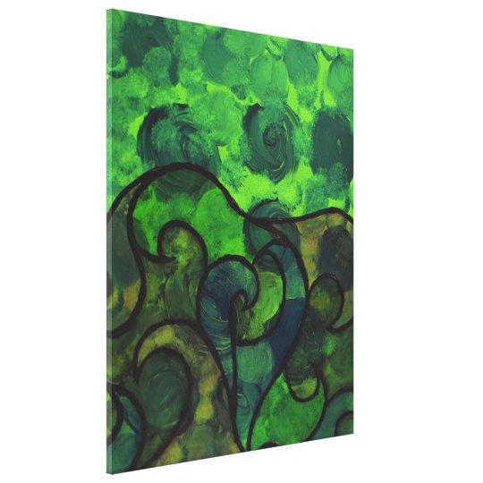 """Waves of Rage"" Canvas Print"