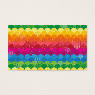 Waves of Rainbows Business Card