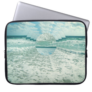 Waves of Reflection Laptop Sleeve
