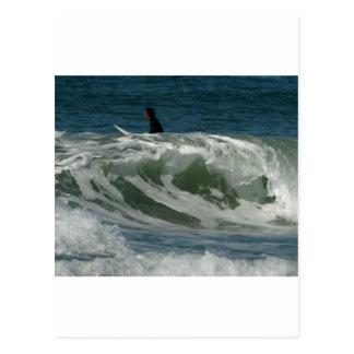 Waves Off Ocean Beach In San Diego Post Cards