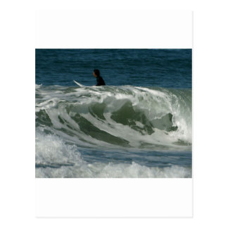 Waves Off Ocean Beach In San Diego Postcard