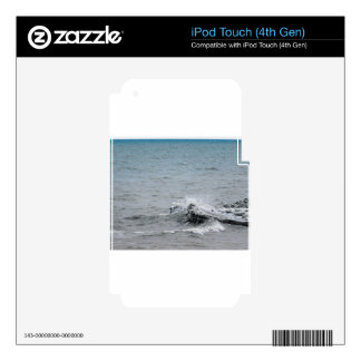 Waves on Ice iPod Touch 4G Skins
