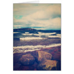 Waves On Lake Superior Greeting Card