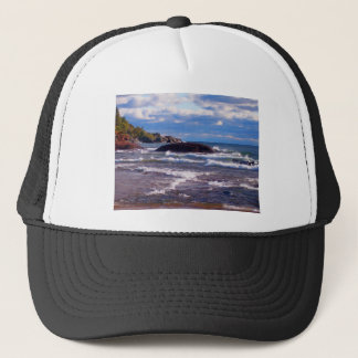 Waves On Lake Superior Trucker Hat