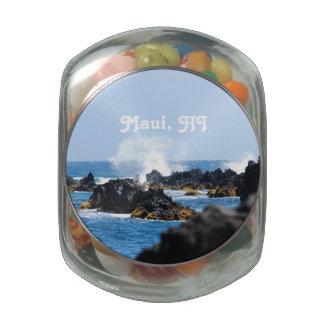 Waves on Maui Coast Jelly Belly Candy Jars
