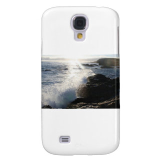 Waves on rocks samsung galaxy s4 covers