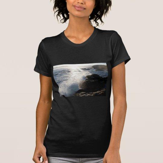 Waves on rocks T-Shirt
