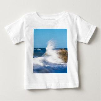 Waves on the Baltic Sea coast Baby T-Shirt