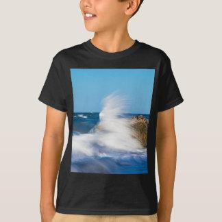 Waves on the Baltic Sea coast T-Shirt