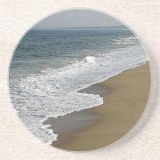 Waves on the Beach Beverage Coaster
