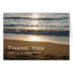Waves on the Beach Employee Appreciation Card