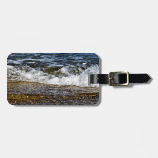 WAVES ON THE BEACH QUEENSLAND AUSTRALIA LUGGAGE TAG