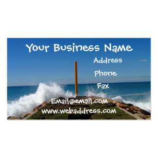 Waves on the Catwalk Business Card