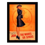 Waves or Spars Post Card