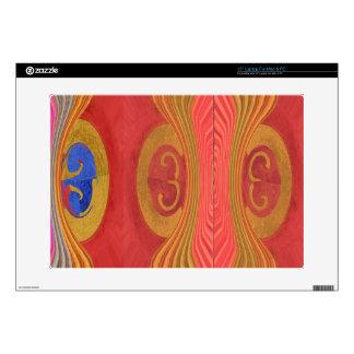 """Waves Pattern - Dramatic Curtain Raiser 15"""" Laptop Skins"""