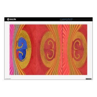 "Waves Pattern - Dramatic Curtain Raiser Skin For 17"" Laptop"