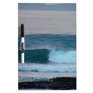 Waves Photo Ireland Dry-Erase Board