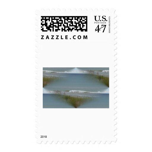 waves postage