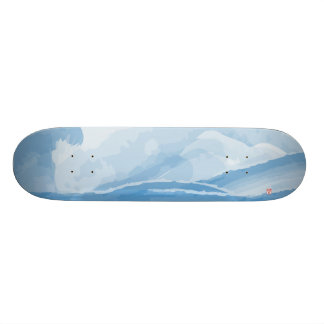 """Waves"" Skateboard"