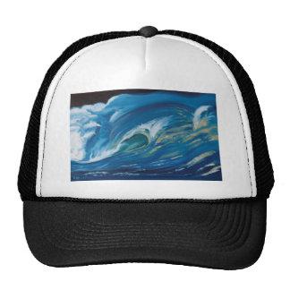 Waves the straight breaks mesh hat