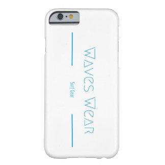 Waves Wear iPhone Case! Barely There iPhone 6 Case