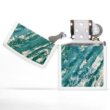 Beach Themed Waves Zippo Lighter