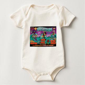 WAVESTOMP TRIPTYCH BABY BODYSUIT