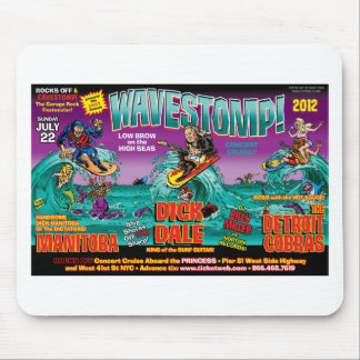 WAVESTOMP TRIPTYCH MOUSE PAD
