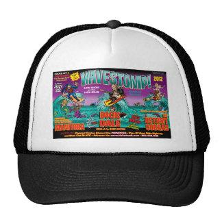 WAVESTOMP TRIPTYCH TRUCKER HAT