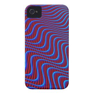 Wavey Lines Patterns Case-Mate iPhone 4 Case