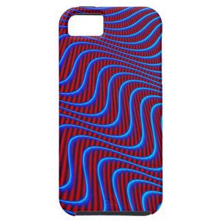 Wavey Lines Patterns iPhone SE/5/5s Case