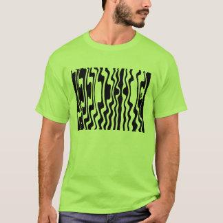 Wavey Stripey - Customized T-Shirt