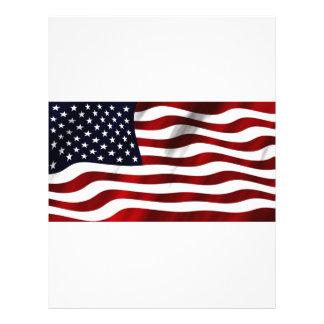 Waving American Flag Flyer