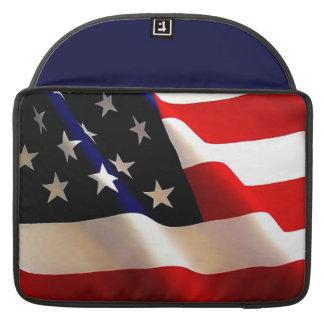 WAVING AMERICAN FLAG MAC SLEEVE GIFT! MacBook PRO SLEEVES