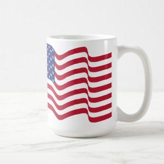 Waving American Flag Mug