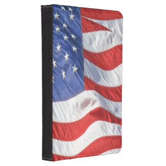 Waving American Flag Patriotic Kindle 4 Case