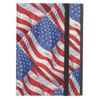 Waving American Flag Patriotic iPad Air Covers
