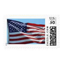 Waving American Flag Postage