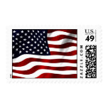 Waving American Flag Postage Stamps