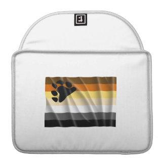 Waving bear pride flag MacBook pro sleeve