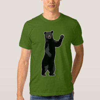 Waving Bear Says Hello T-Shirt