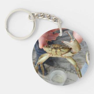 Waving Crab Keychain