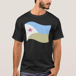 Waving Djibouti Flag T-Shirt