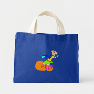 Waving Down The Taxi Mini Tote Bag