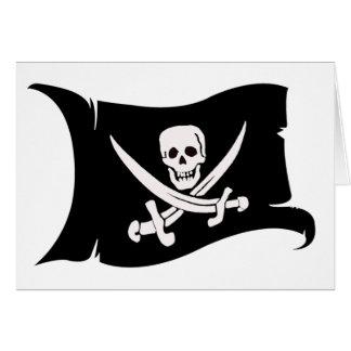 Waving Flag #10 Jack Rackham Card