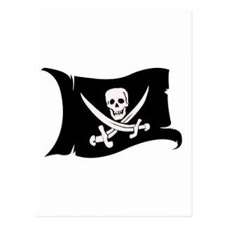 Waving Flag #10 Jack Rackham Postcard