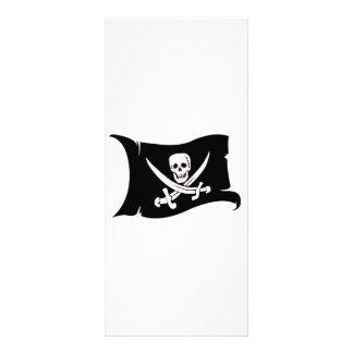 Waving Flag #10 Jack Rackham Rack Card