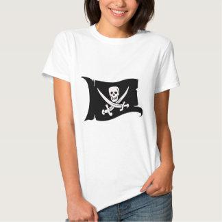 Waving Flag #10 Jack Rackham Shirts